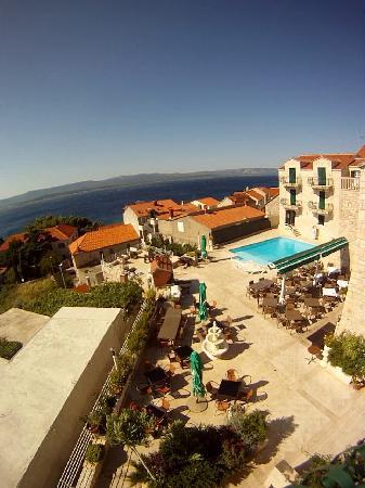 Hotel Ivan: Vue du balcon