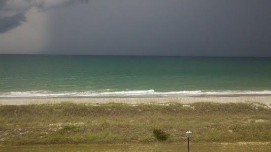 Ocean Forest Villa Resort: View of a storm from our balcony