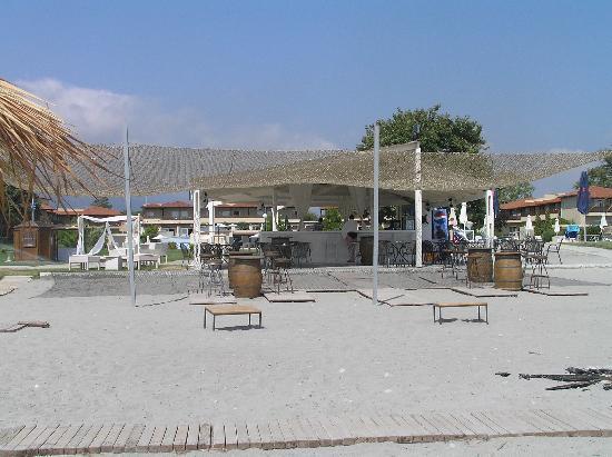 Hotel Dion Palace Resort: beach bar