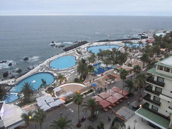 Vista desde la terraza picture of hotel catalonia las vegas puerto de la cruz tripadvisor - Hotel catalonia las vegas puerto de la cruz ...