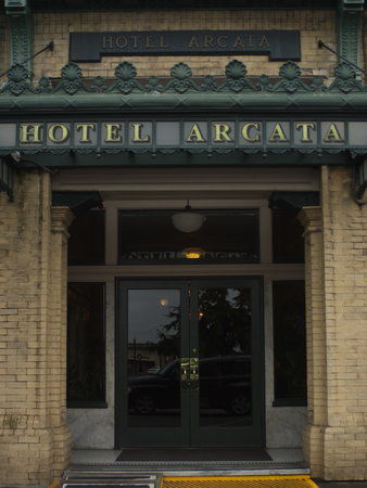 Hotel Arcata : Avoid this place like the plague!