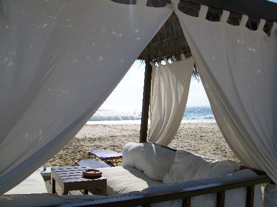 Jaz Oriental Resort: Gazebo sul mare (extra a 30€ al giorno)
