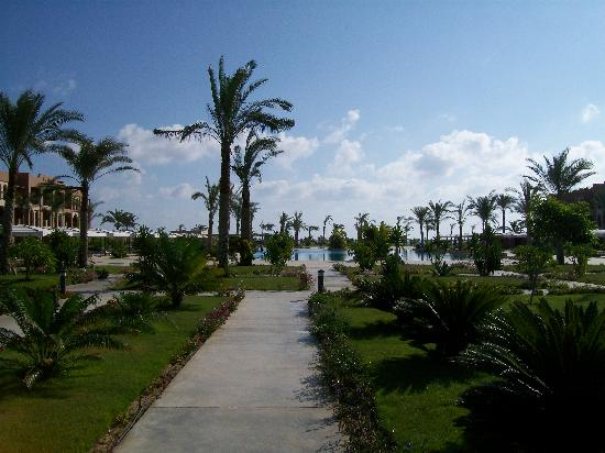 Jaz Oriental Resort: Vista del Beach