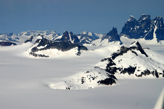 Alaska Fly N Fish Charters : Juneau Icefield