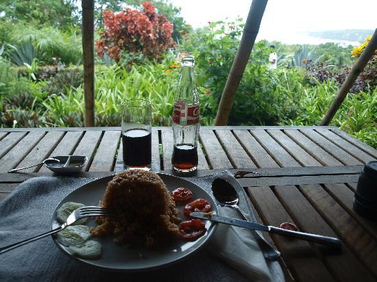 Sumba Nautil Resort: tasty nasi goreng