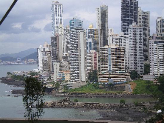 Trump Ocean Club International Hotel & Tower Panama: Vista desde la habitacion