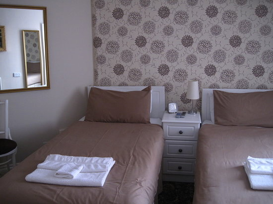Raglan House: Twin room at Nature's Choice