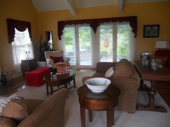 Tannaghtyn B & B: living room