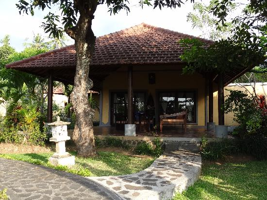 "Puri Mangga Sea View Resort & Spa: Unser Bungalow das ""Family House"""