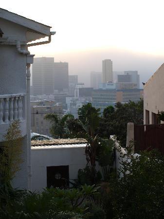Upperbloem: Blick in Richtung City