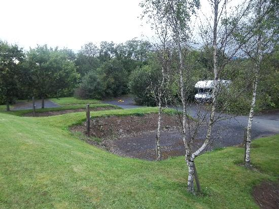 Lough Lannagh Holiday Village: A couple more spaces for your tent?