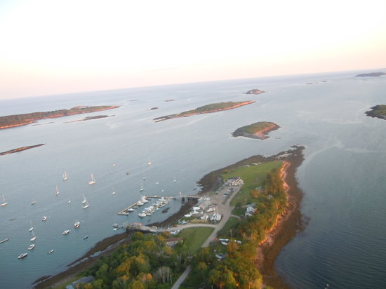 ‪‪Harpswell‬, ‪Maine‬: Dolphin Marina and Resaurant‬