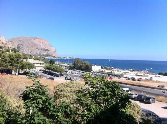 Addaura Hotel Residence Congressi: dal balcone