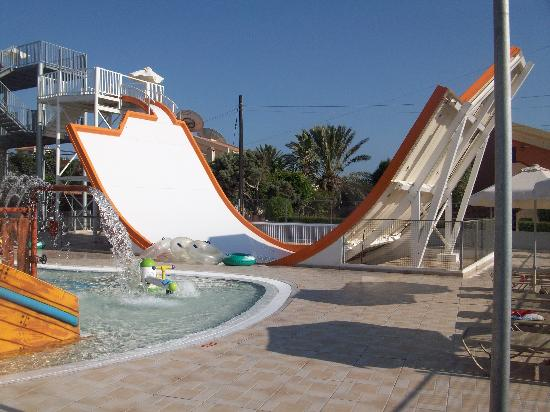 Electra Holiday Village: side winder at waterpark