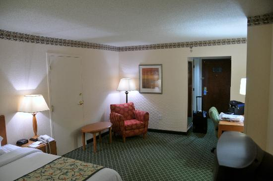 Fairfield Inn Asheville South: Sitting area