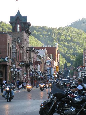 Town Hall Inn: 5 min. from Deadwood