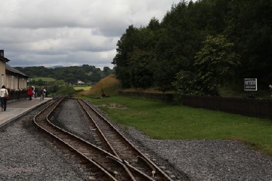 Merthyr Tydfil, UK : The track