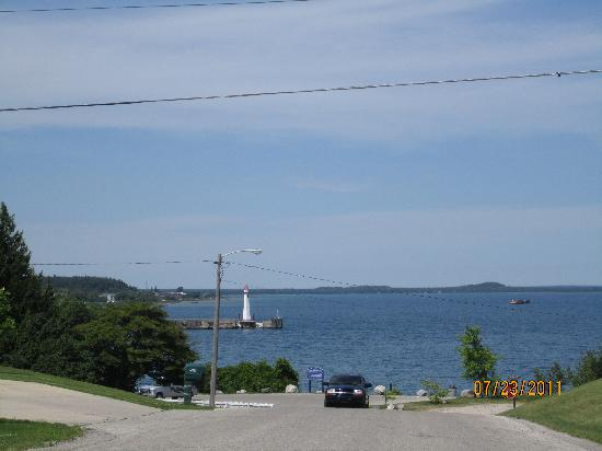 Moran Bay Motel: The view you will enjoy