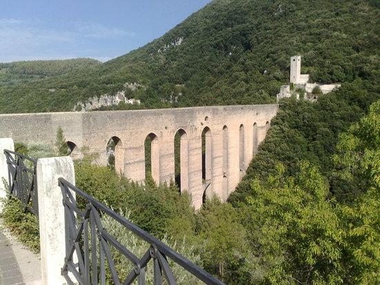La Rocca: Il ponte delle torri