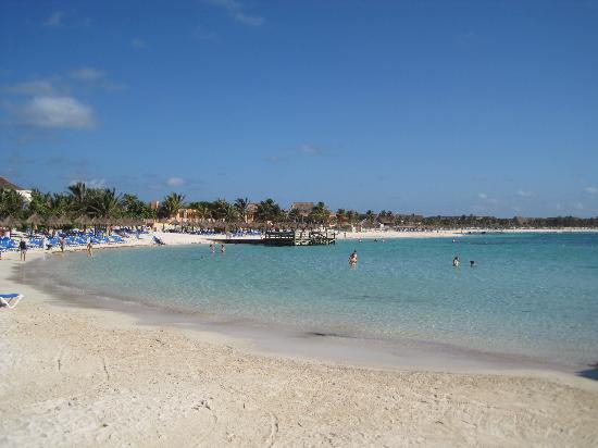 Grand Bahia Principe Coba: The beach