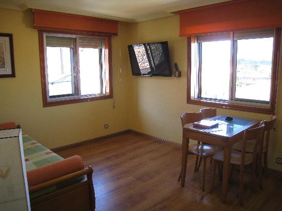 Apartamentos Ababides: salón