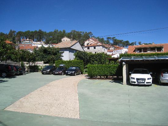 Apartamentos Ababides: aparcamiento