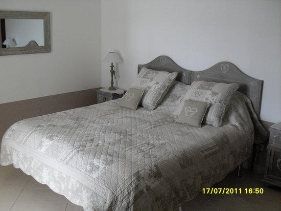 Domaine de Campras : Le lit
