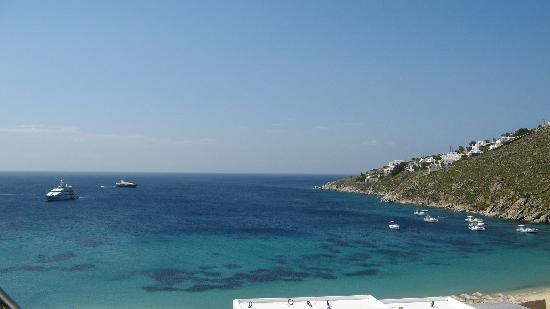 Grecotel Mykonos Blu Hotel: sea view from the waterfront bunglow