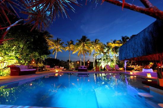 Villas de Trancoso Hotel: Villas Pool and Restaurant