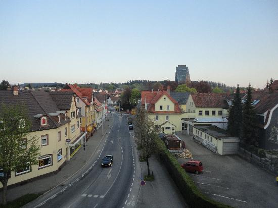 Villingen-Schwenningen, Germania: view from window