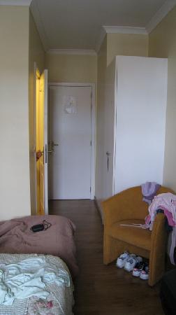 Hotel Beverly Hills: Vue de la chambre