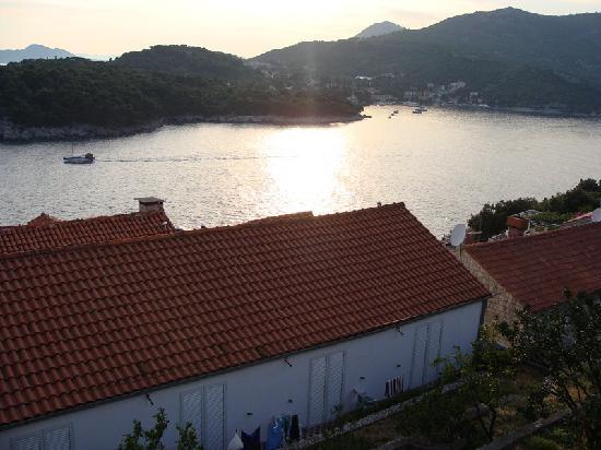 Paradis Apartments: Vista desde la terraza