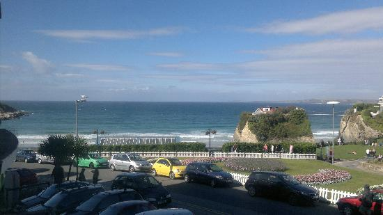 Hotel Sunnyside Newquay: view from our hotel room :))