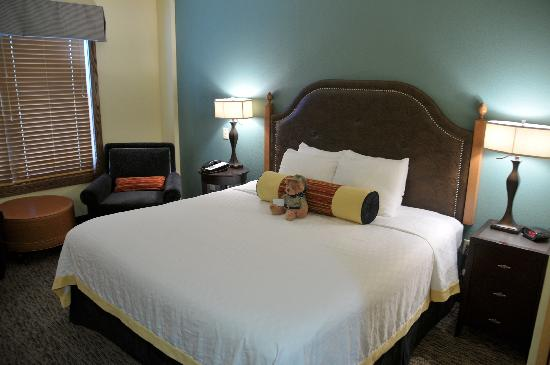 Rough Riders Hotel: Bed