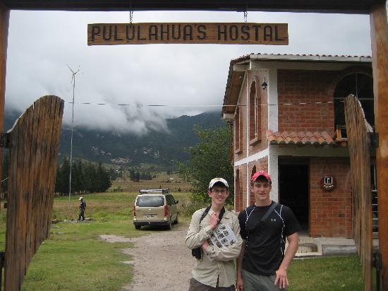 Pululahua Hostal: the house