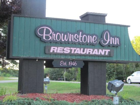 The Brownstone Inn Bar and Restaurant: Their Sign
