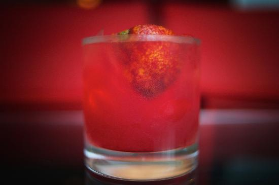 The Frisky Oyster : Blood Orange Margarita