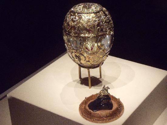Virginia Museum of Fine Arts: Peter the Great Faberge egg
