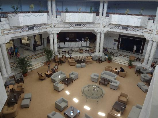 Djerba Plaza Hotel & Spa : hall principal, reception
