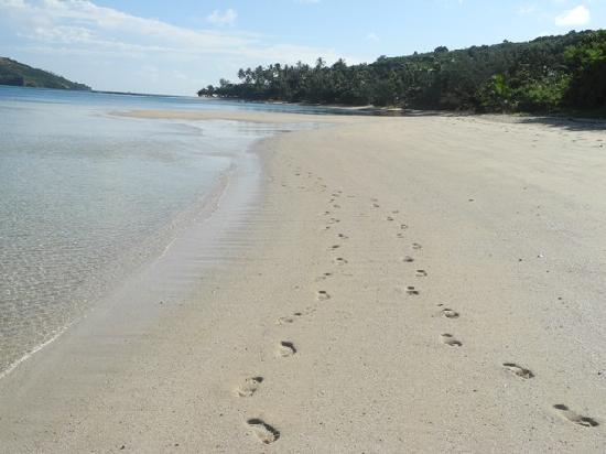 Nanuya Island Resort: passeggiata