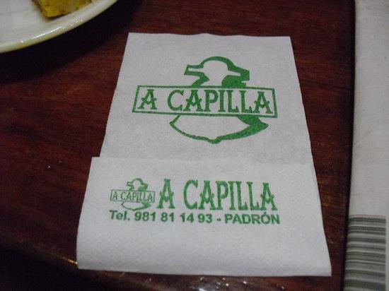 Bar Acapilla: La dirección.