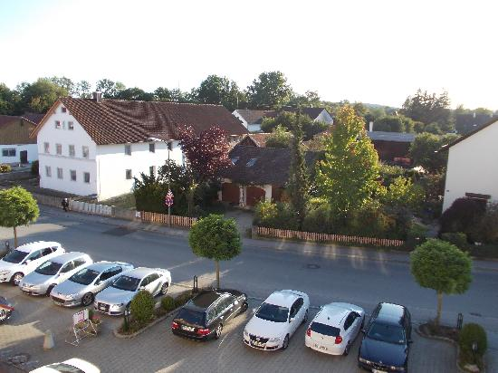 Hotel Zum Fuchswirt: Window view