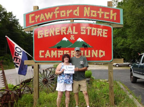 Crawford Notch General Store and Campground: Top notch camping!
