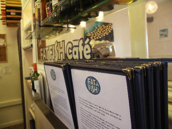 Fat Fish Cafe: Would you like a menu?