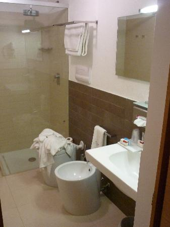 Villa Carlotta Hotel : Das Bad