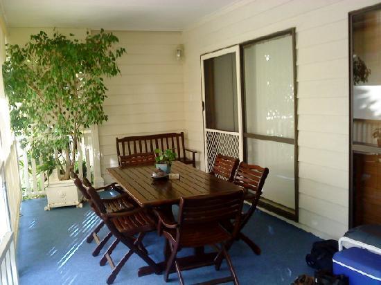 Debbies Place: Balcony Area