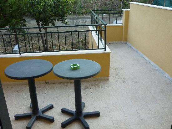 Hotel Al Pescatore: Balkon