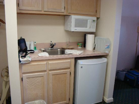 EconoLodge Oceanfront Ocean City: kitchenette