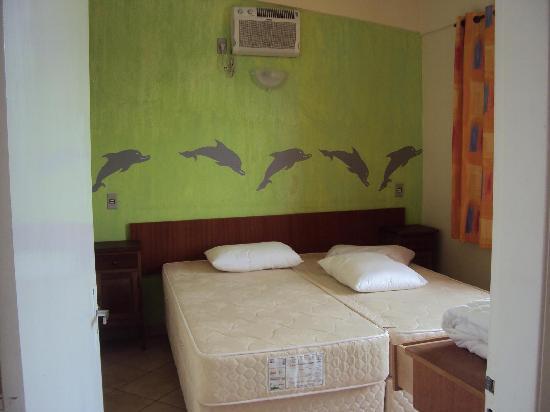 """4.-Barra Da Lagoa- """"Pousada Recanto Da Barra"""":  dormitorio matrimonial"""
