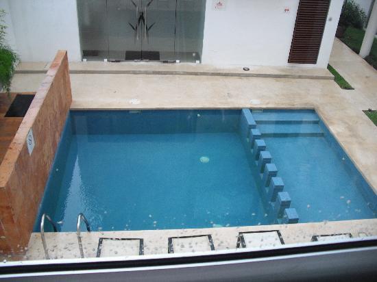 Hotel Bambu Suites: tiny pool